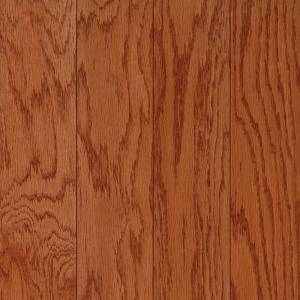 Harris One Collection by Harris Wood Floors Engineered Hardwood 3 in. Red Oak - Dark Gunstock