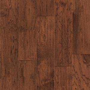 One Contours Collection by Harris Wood Floors Engineered Hardwood 6-1/2 in. Vintage Hickory - Burnt Sienna
