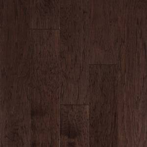 One Contours Collection by Harris Wood Floors Engineered Hardwood 6-1/2 in. Vintage Hickory - Spiced Umber