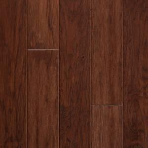 Springloc Today Collection by Harris Wood Floors Engineered Hardwood 4-3/4 in. Vintage Hickory - Dark Cognac