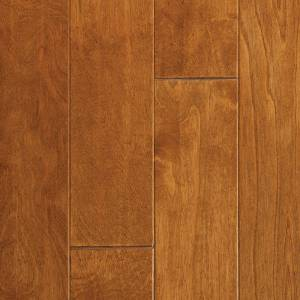 Springloc Today Collection by Harris Wood Floors Engineered Hardwood 4-3/4 in. Yellow Birch - Wheat
