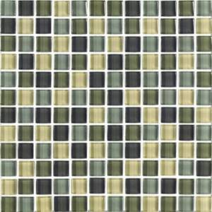 INTERCERAMIC - Interglass Shimmer Blends Collection 1x1 Mosaics
