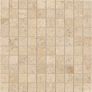 Dordogne Collection by Unicom Starker 12x12 in. Mosaic - Caramel