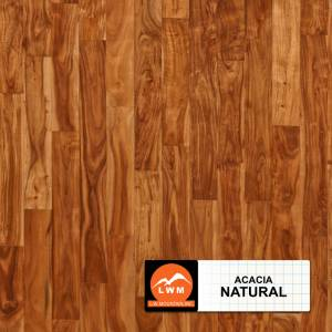 Acacia Solid Collection by LW Mountain Hardwood 3-5/8 in. Acacia - Natural