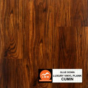 Commercial Dry Back LVP Collection by LW Mountain Vinyl Plank 6x48 Cumin