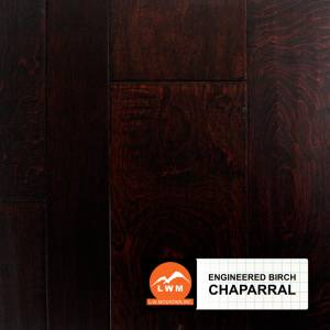 Hand-Scraped Birch Collection by LW Mountain Engineered Hardwood  Birch - Chaparral