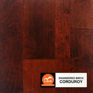 Hand-Scraped Birch Collection by LW Mountain Engineered Hardwood  Birch - Corduroy