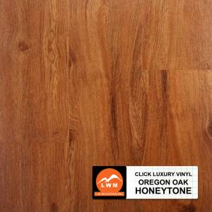 LVP Click Collection by LW Mountain Vinyl Plank 7x48 Honeytone
