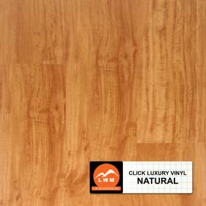 LVP Click Collection by LW Mountain Vinyl Plank 7x48 Natural