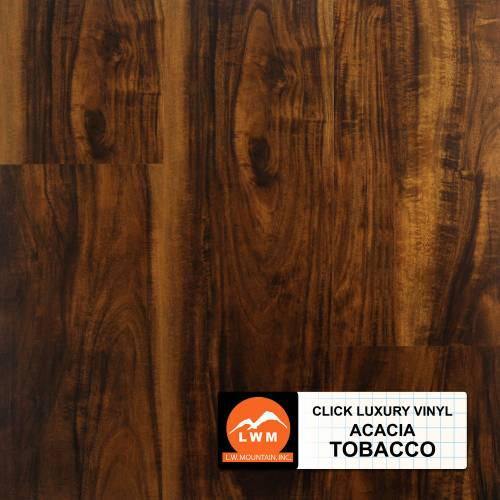 LVP Click Collection by LW Mountain Vinyl Plank 7x48 Tobacco