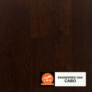 "Long Strip Oak Collection by LW Mountain Engineered Hardwood 7-1/2"" Oak - Cabo"