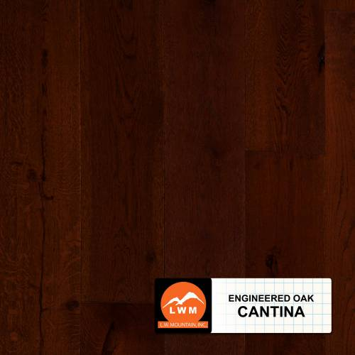 Long Strip Oak Collection by LW Mountain Engineered Hardwood 7-1/2 in. Oak - Cantina