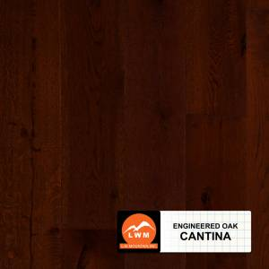 "Long Strip Oak Collection by LW Mountain Engineered Hardwood 7-1/2"" Oak - Cantina"