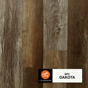 SPC IXPE Padding Click Collection by LW Mountain Vinyl Plank 9x60 in. - Dakota