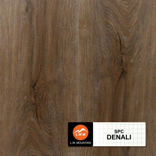 SPC IXPE Padding Click Collection by LW Mountain Vinyl Plank 9x60 in. - Denali