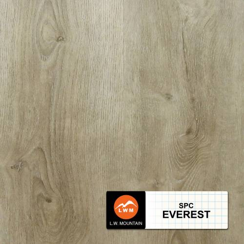 SPC IXPE Padding Click Collection by LW Mountain Vinyl Plank 9x60 Everest