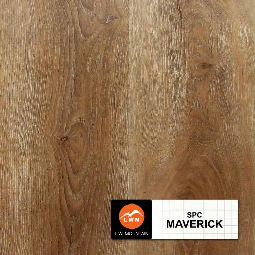 SPC IXPE Padding Click Collection by LW Mountain Vinyl Plank 9x60 in. - Maverick