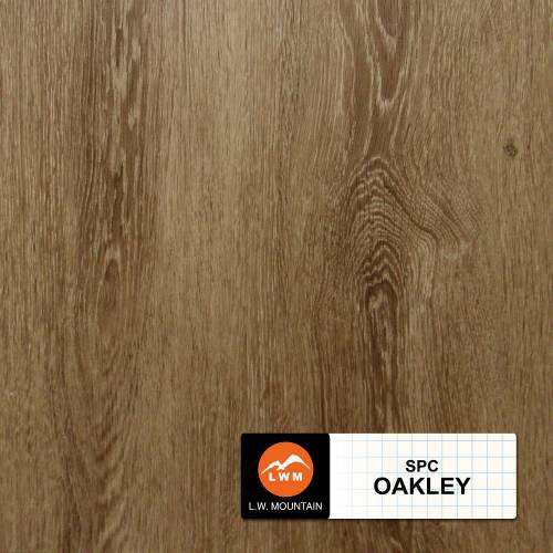 SPC IXPE Padding Click Collection by LW Mountain Vinyl Plank 9x60 Oakley