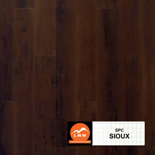 SPC Rigid Core Click Collection by LW Mountain Vinyl Plank 7x48 Sioux