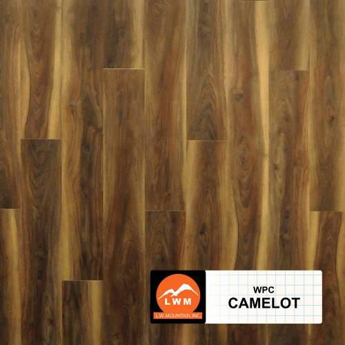 WPC Click Collection by LW Mountain Vinyl Plank 7x48 Camelot