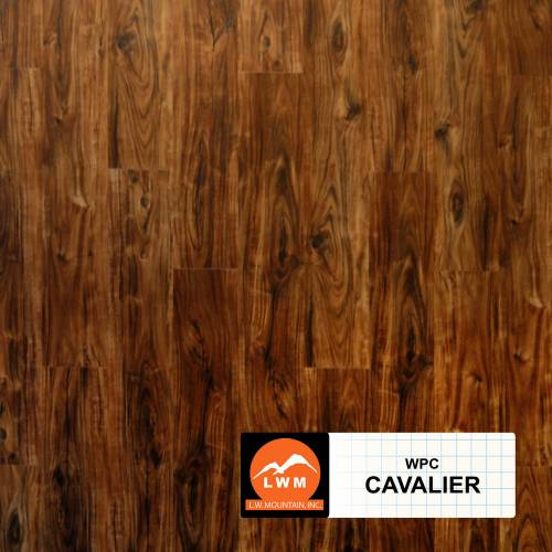 WPC Click Collection by LW Mountain Vinyl Plank 7x48 in. - Cavalier