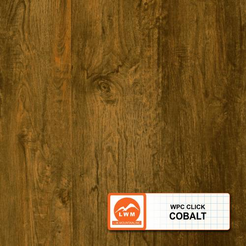 WPC Click Collection by LW Mountain Vinyl Plank 7x48 in. - Cobalt
