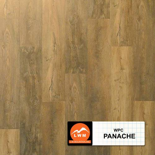 WPC Click Collection by LW Mountain Vinyl Plank 7x48 in. - Panache