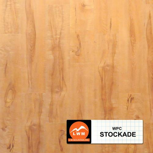 WPC Click Collection by LW Mountain Vinyl Plank 7x48 Stockade