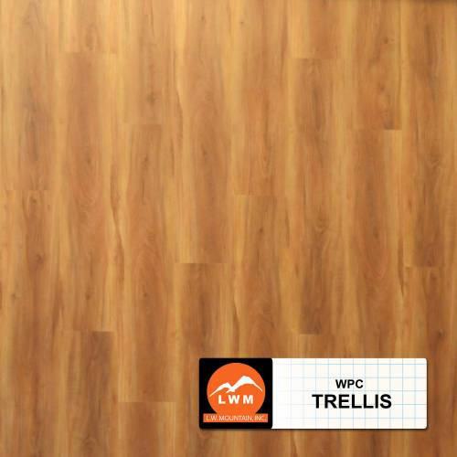 WPC Click Collection by LW Mountain Vinyl Plank 7x48 in. - Trellis