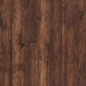 """Mountain View Collection by Mannington Engineered Hardwood 5"""" Hickory - Fawn"""