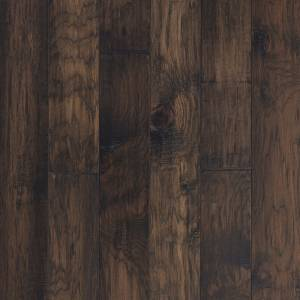 """Mountain View Collection by Mannington Engineered Hardwood 5"""" Hickory - Acorn"""