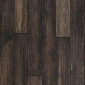 "Mountain View Collection by Mannington Engineered Hardwood 5"" Hickory - Smoke"