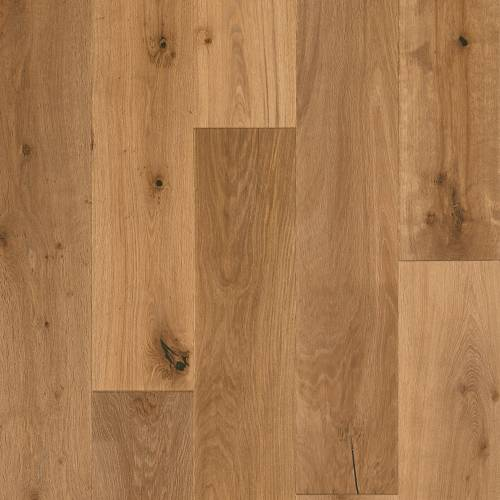 "Sanctuary Collection by Mannington Engineered Hardwood 9-1/2"" White Oak - Oyster"