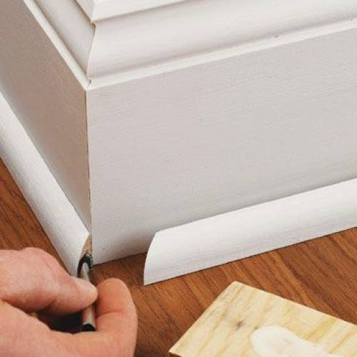 Baseboards and Base Shoe Moldings