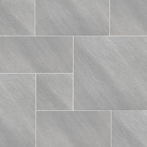 Arterra Collection by MSI Stone Porcelain Paver Fossil Snow Pattern