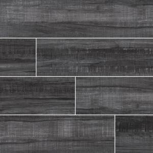 Belmond Collection by MSI Stone Ceramic Tile 8x40 Obsidian