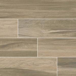 Carolina Timber Collection by MSI Stone Ceramic Tile 6x24 Saddle
