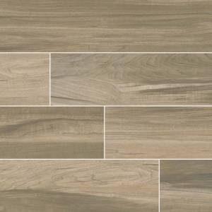 Carolina Timber Collection by MSI Stone Ceramic Tile 6x24 Saddle