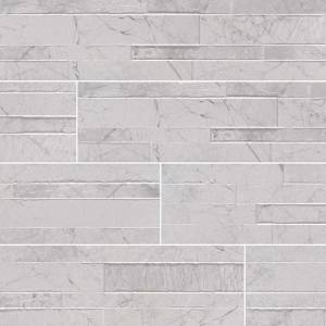 Dekora Porcelain Panel by MSI Stone 6x24 Carrara White