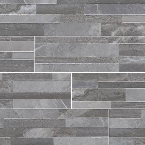 Dekora Porcelain Panel by MSI Stone 6x24 Palisade Grey