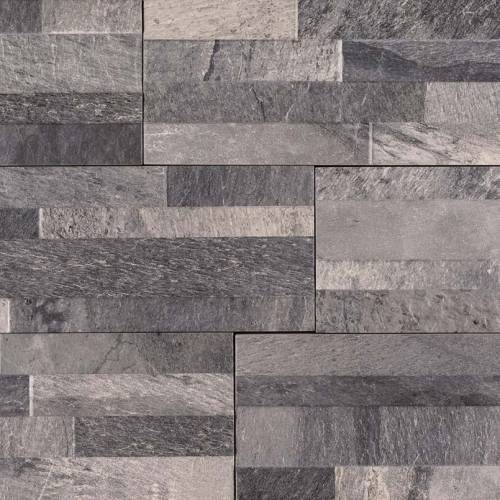 Dekora Porcelain Panel by MSI Stone 6x24 Ardesia Black