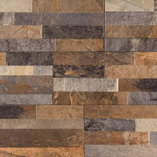 Dekora Porcelain Panel by MSI Stone 6x24 Rocky Gold