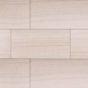Eramosa Collection by MSI Porcelain Tile 12x24 in. - White