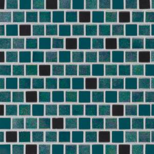 Glass Mosaic Tile by MSI Stone 1x1 Carribean Mermaid