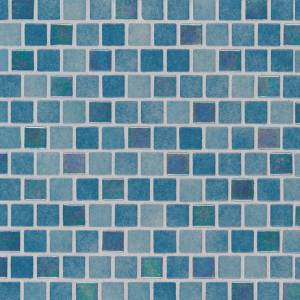 Glass Mosaic Tile by MSI Stone 1x1 Carribean Reef