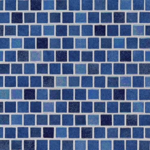 Glass Mosaic Tile by MSI Stone 1x1 Hawaiian Blue