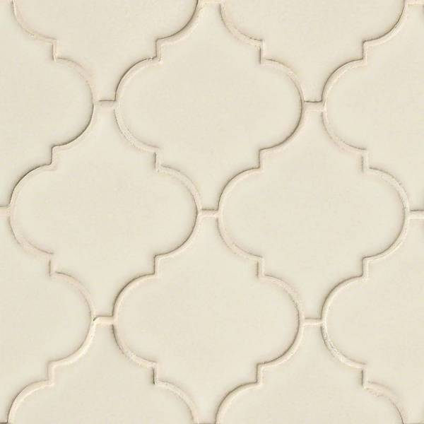 Antique White Arabesque