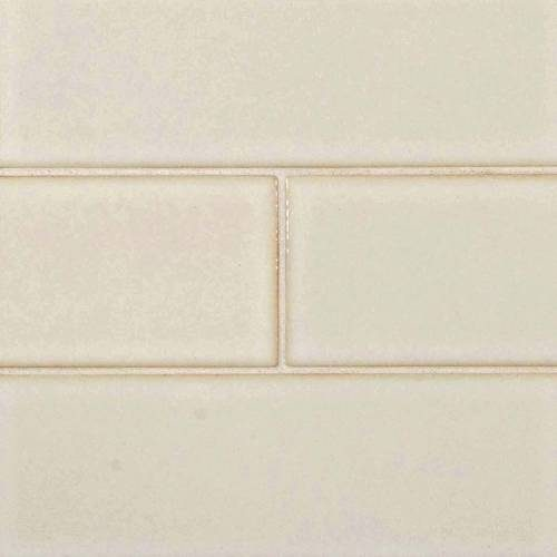 Highland Park Collection by MSI Stone Mosaic Tile 4x12 Antique White Glazed Handcrafted