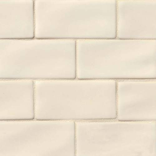 Highland Park Collection by MSI Stone Mosaic Tile 3x6 Antique White Subway