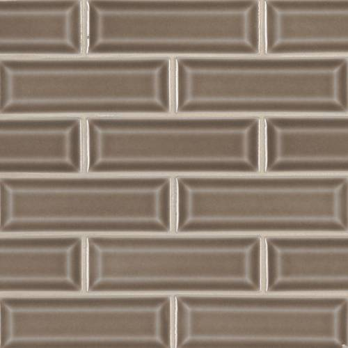 Highland Park Collection by MSI Stone Mosaic Tile 2x6 Artisan Taupe Beveled